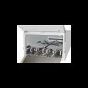 Cellule mortuaire pour brancards mortuaires à corps multiples pour chargement frontal  modulaire