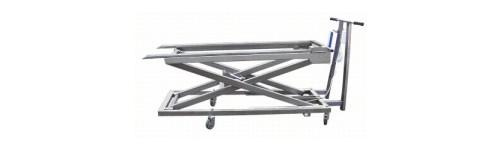Chariot elevateur pour civieres