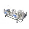lit électrique d'hôpital de la balustrade
